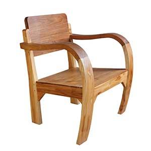 Stuhl aus Massivholz