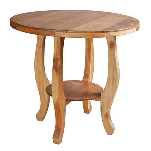 Holztisch aus Massivholz
